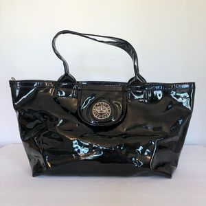 Marc by Marc Jacobs Large Black Patent Leather Bag